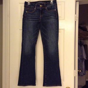 American Eagle Kick boot super stretch jeans